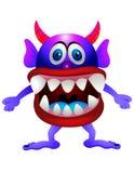 Monstro roxo Fotografia de Stock