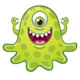 Monstro verde de One_Eyed Fotos de Stock