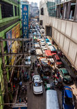 Monstrous traffic congestion Stock Photo