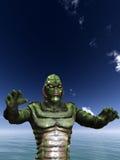 Monstruo 3 de la papada Imagen de archivo libre de regalías