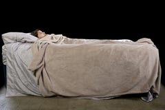 Monstruo bajo la cama Imagenes de archivo