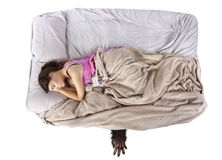 Monstruo bajo la cama Imagen de archivo libre de regalías