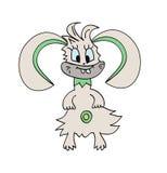 Monstruo Bunny Rabbit Vector Illustration Imagen de archivo