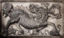 Monstruo chino Fotografía de archivo libre de regalías