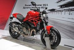 Monstruo 821 de Ducati de la motocicleta Foto de archivo