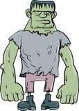 Monstruo de Frankenstein de la historieta Imagen de archivo