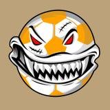 Monstruo de la bola de Halloween Fotos de archivo