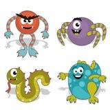 Monstruo de la historieta de los niños Libre Illustration