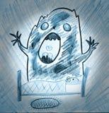 Monstruo de la noche Imagen de archivo libre de regalías