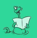 Monstruo de Loch Ness stock de ilustración