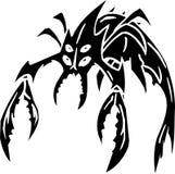 Monstruo de mar - ejemplo del vector. Vinilo-listo. Fotos de archivo