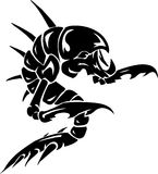 Monstruo de mar - ilustración del vector. Vinilo-listo. Foto de archivo