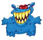 Monstruo de risa Foto de archivo libre de regalías