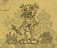 Monstruo de Shroom Foto de archivo libre de regalías