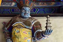 Monstruo del arte de Shaolin Foto de archivo libre de regalías