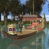 Monstruo del egipcio de la Anubis-Fantasía libre illustration