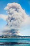 Monstruo del fuego fotografía de archivo