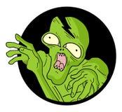 Monstruo del icono Imagen de archivo libre de regalías