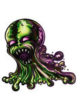 Monstruo del limo Imagen de archivo libre de regalías