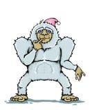 Monstruo del yeti Foto de archivo libre de regalías
