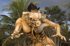 Monstruo en el Año Nuevo del Balinese, Indonesia del ogoh del ogoh del Balinese Fotografía de archivo