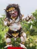 Monstruo en el Año Nuevo del Balinese, Indonesia del ogoh-ogoh del Balinese Imagen de archivo