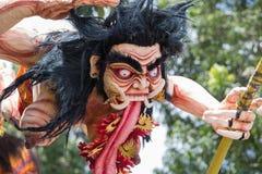 Monstruo en el Año Nuevo del Balinese, Indonesia del ogoh-ogoh del Balinese Imagen de archivo libre de regalías