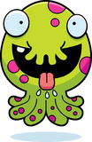 Monstruo hambriento de la historieta Imagen de archivo libre de regalías