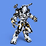 Monstruo mecánico Foto de archivo libre de regalías