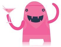 Monstruo rosado del partido Foto de archivo libre de regalías