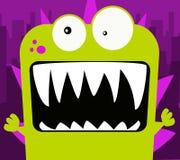 Monstruo verde Imagen de archivo libre de regalías