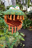 Monstruo verde amistoso Imagen de archivo