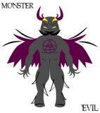 Monstruo wow Imagen de archivo libre de regalías