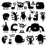 Monstruos Imagen de archivo libre de regalías