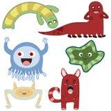 Monstruos 2 ilustración del vector