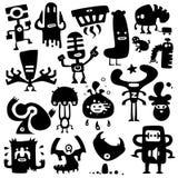 Monstruos divertidos Imagen de archivo