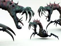Monstruos espeluznantes 2 Fotografía de archivo libre de regalías