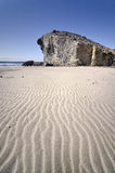 Monsul beach, Cabo de Gata national park,Almeria Royalty Free Stock Images