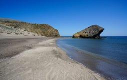 Monsul Beach in Cabo de Gata-Nijar Natural Park, Spain Stock Photo