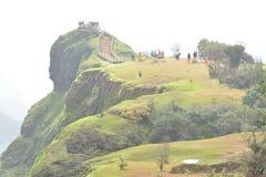 Monsun der Mahabaleshwar-Punkt-Ansicht vor stockfoto