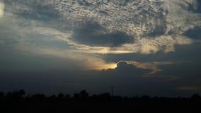 Monsun-Wolke Lizenzfreies Stockfoto