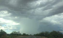 Monsunhimmel Arkivfoto