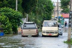 Monsunjahreszeit in Thailand Lizenzfreie Stockbilder