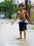 Monsunliv Arkivbild