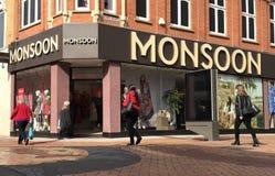 Monsunu sklep zdjęcia royalty free