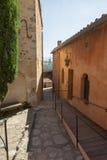 Montée Du Beffroi w Roussillon, Francja Zdjęcia Royalty Free