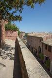 Montée Du Beffroi w Roussillon, Francja Obraz Royalty Free