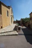 Montée Du Beffroi w Roussillon, Francja Fotografia Royalty Free