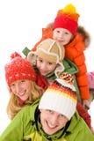 Montão da família Imagens de Stock Royalty Free
