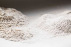Montão da farinha de trigo Fotografia de Stock Royalty Free